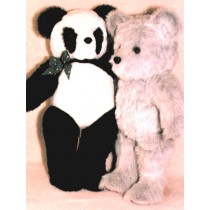 "Pattern - Cocoa_Panda - 28"" Bears"