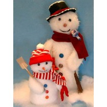"Pattern - Frosty Friends - 9"" & 16"""