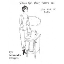 Pattern - Gibson Girl Body  16-18""