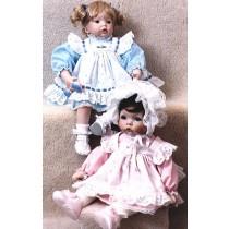 Pattern - Pinafore - Dress & Bonnet