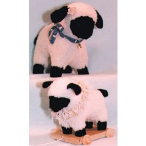 "Pattern - Sheep & Pull Toy 14"" & 9"""