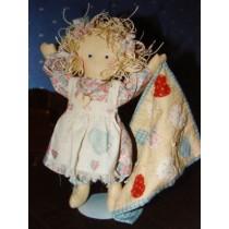 "Pattern - ""Tattered Heart Dolly"