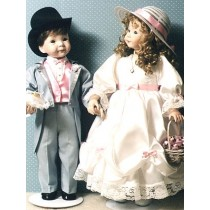 """Pattern - The Wedding for 19"""" Dolls"""