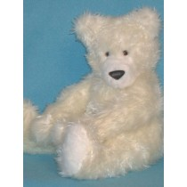 "Paw Polar Bear Pattern - 12"" high"
