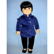 "|Pea Coat - 18"" Dolls"