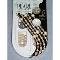 Pearl Elegence Bead Kits - Cream