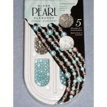 Pearl Elegence Bead Kits - Turquoise