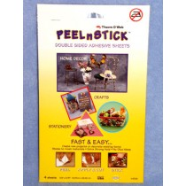 Peel  & Stick Sheet Adhesive-4 sheet