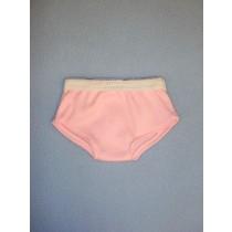 "Pink Cotton Knit Bikini Panties - 18"" Dolls"