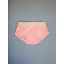 "Pink Cotton Knit Bikini Panties - 18"" Dolls"
