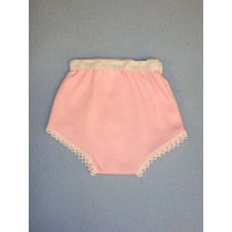 "Pink Cotton Knit Panties - 18"" Dolls"