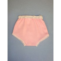 "Pink Cotton Knit Panties - 18"" Dolls"
