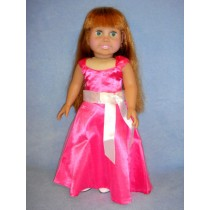 "|Pink Party Dress - 18"" Dolls"