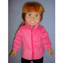 |Pink Plush Jacket