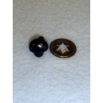 Plain Black Animal Nose - 10.5mm Pkg_100