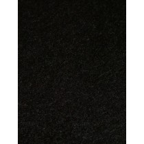 Plush Felt - Black  1 Yd