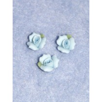 "Porcelain Rose - 3_8"" Blue Pkg_3"