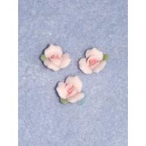 """Porcelain Rose - 3_8"""" Pink Pkg_3"""