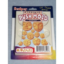 Push Mold - Doll Faces