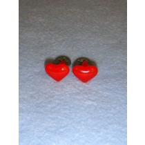 Red Heart Eyes_Nose - 15mm Pkg 6