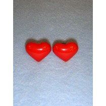 Nose_Eyes - 25mm Red Heart Pkg_6