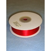 "Ribbon - 7_8"" Red"