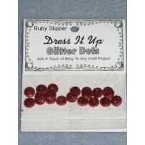 Ruby Slipper Glitter Dots
