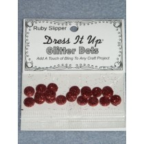 Ruby Slipper Glitter Dots