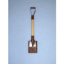 Rusted Mini Snow Shovel - 4""