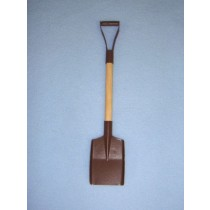 lRusted Mini Snow Shovel - 6 1_4