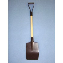 Rusted Mini Snow Shovel - 8 1_2""
