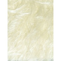 S-Finish Sparse-Medium Density Mohair - White