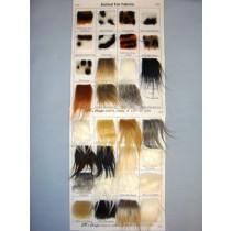 Samples - Animal Fur Fabrics