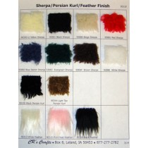Samples - Sherpa_Persian Kurl_Feather Finish