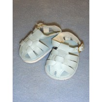 "Sandal - Fisherman - 2 7_8"" Light Blue"