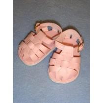 "Sandal - Fisherman - 2 7_8"" Pink"