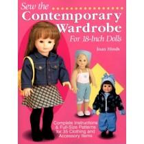 "Sew Contemporary Wardrobe For 18"" Dolls"
