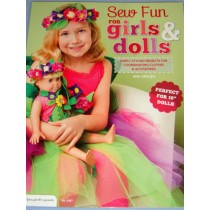 "Sew Fun For Girls & 18"" Dolls Book"