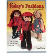 "Sew Todays Fashions for 18"" Dolls Book"