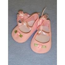 "Shoe -Ballet Slippers -2 3_4"" Pink"