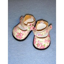 "Shoe - Ankle Strap - 3 1_8"" Blossom Pink"