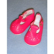 "Shoe - Baby Mary Jane - 2 7_8"" Dark Pink"