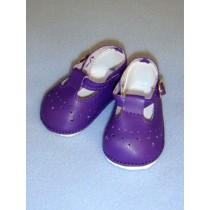 "Shoe - Baby Mary Jane - 2 7_8"" Dark Purple"