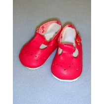 "Shoe - Baby Mary Jane - 2 7_8"" Fuchsia"