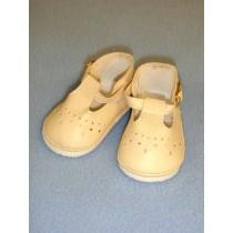 """Shoe - Baby Mary Jane - 2 7_8"""" Light Cream"""