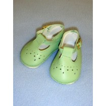 "Shoe - Baby Mary Jane - 2 7_8"" Light Green"