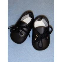 "Shoe - Boy's Tie - 2 3_4"" Black"