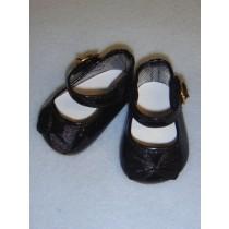"""Shoe - Elegant Mary Jane - 2 3_4"""" Black"""