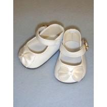 """Shoe - Elegant Mary Jane - 2 3_4"""" White"""