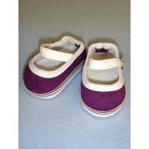 "Shoe - Everyday Canvas - 2 3_4"" Dark Purple"